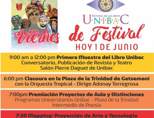 CUMPLEAÑOS DE CARTAGENA, VIERNES DE FESTIVAL EN UNIBAC