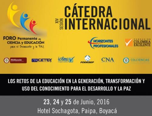 Los retos de la educación en la generación, transformación y uso del conocimiento para el desarrollo y la paz