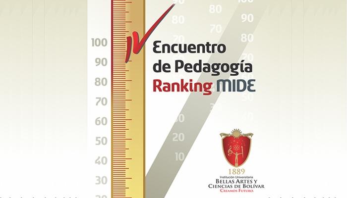 Encuentro de Pedagogía Ranking MIDE