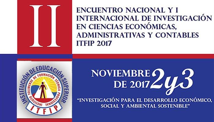 II Encuentro Nacional y I Internacional de Investigación en Ciencias Económicas