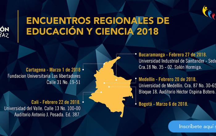 Encuentros Regionales de Educación y Ciencias 2018