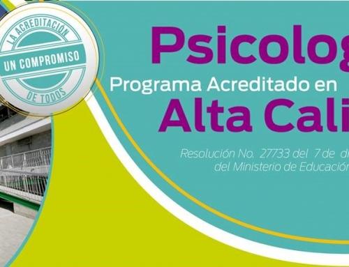 EL MINISTERIO DE EDUCACIÓN NACIONAL OTORGÓ ACREDITACIÓN DE ALTA CALIDAD AL PROGRAMA DE PSICOLOGÍA DE LA INSTITUCIÓN UNIVERSITARIA DE ENVIGADO