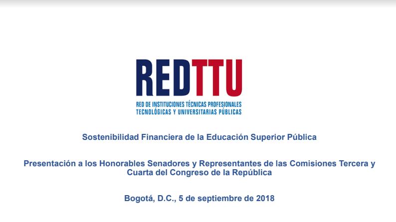 SOSTENIBILIDAD FINANCIERA DE LA EDUCACIÓN SUPERIOR PÚBLICA