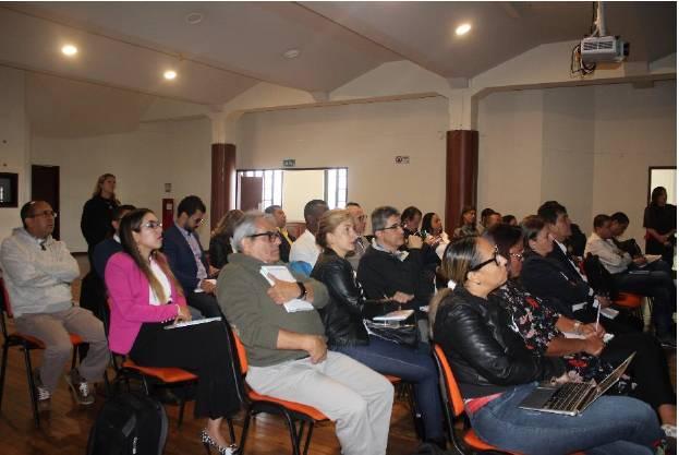 Asistentes al taller sobre construcción de proyectos según el Sistema General de Regalías (SGR)