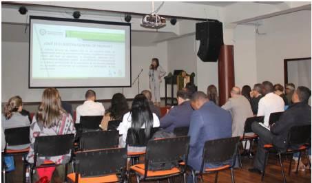 Presentación de Amanda Mesa, Jefe de la oficina Asesora de Planeación del ETITC