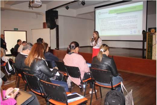 Presentación de Lorena Suarez, Asesora Experta de la Gobernación de Boyacá
