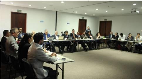 Participantes de la Comisión Técnica Comité de fortalecimiento ITTU Educación Superior