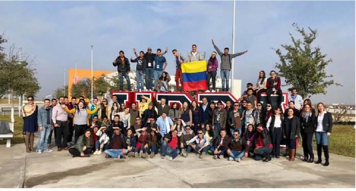 Estudiantes participantes de La Escuela Internacional de Invierno 2018