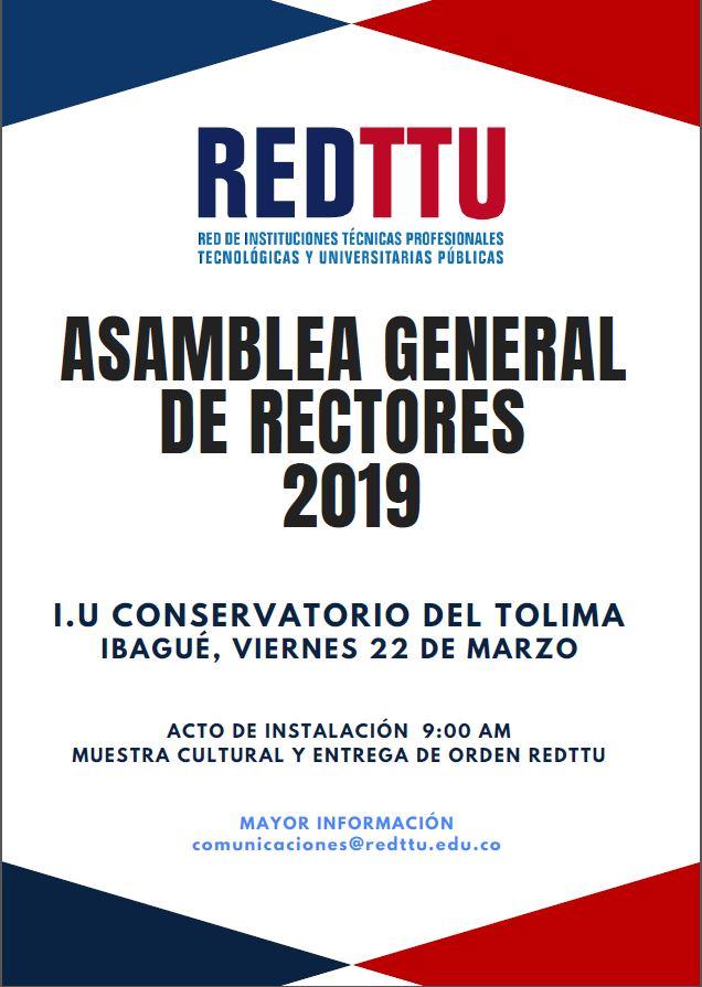 Asamblea General de Rectores