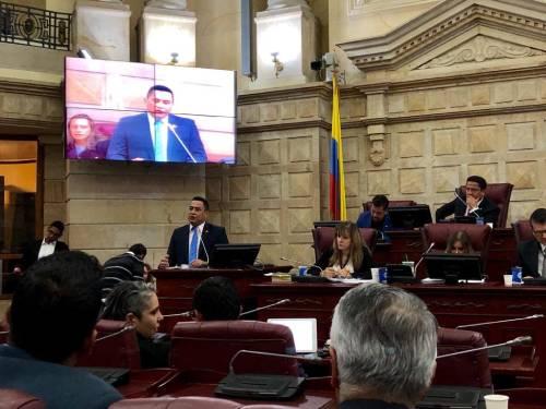 Intervención Presidente del Consejo Directivo de la Red, Oscar Porras