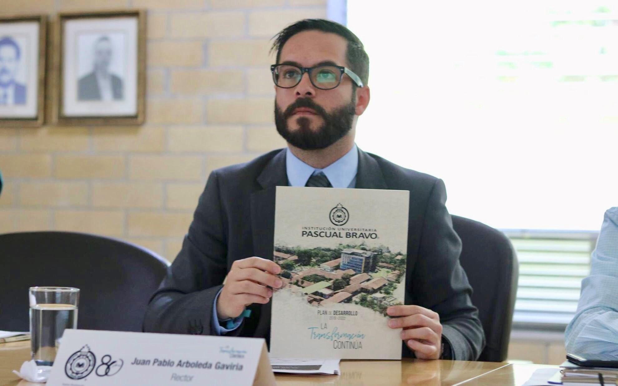 Rector Pascual Bravo, Juan Pablo Arboleda