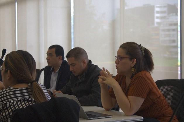 Representantes de a REDTTU en reunión técnica