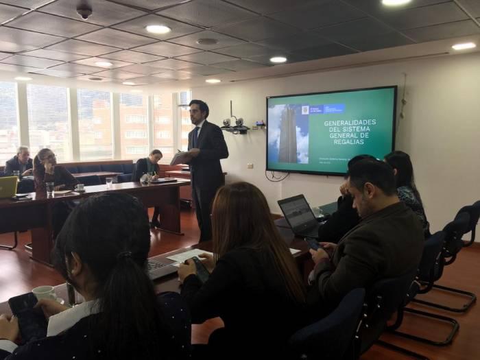 Ernesto Correa Valderrama Coordinador de la Dirección de Sistema General de Regalías