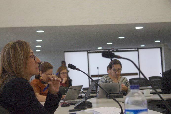 Participantes de la reunión de la Mesa Técnica