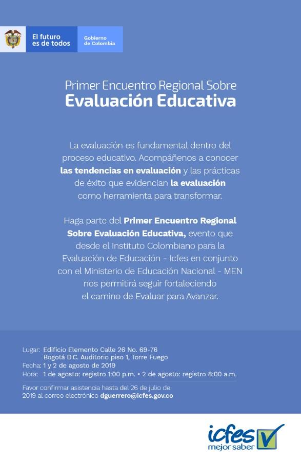 Primer Encuentro Regional Sobre Evaluación Educativa