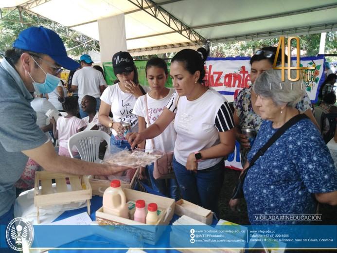 INTEP participa en la X Feria Agropecuaria, Gastronómica y del Emprendimiento Rural en Florida, Valle