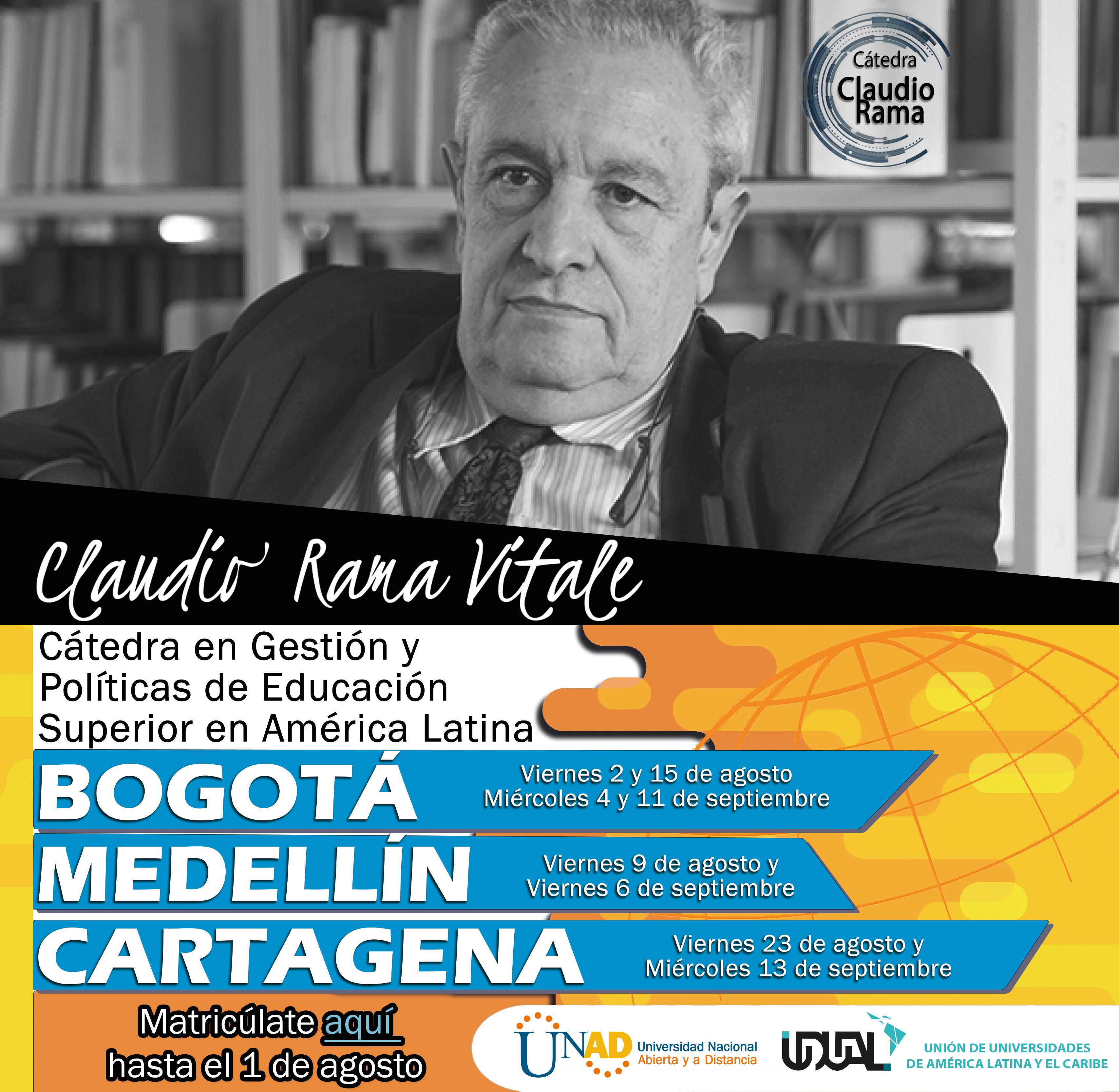 La UNAD lanza el segundo ciclo de la Cátedra en Gestión y Políticas de Educación Superior en América Latina