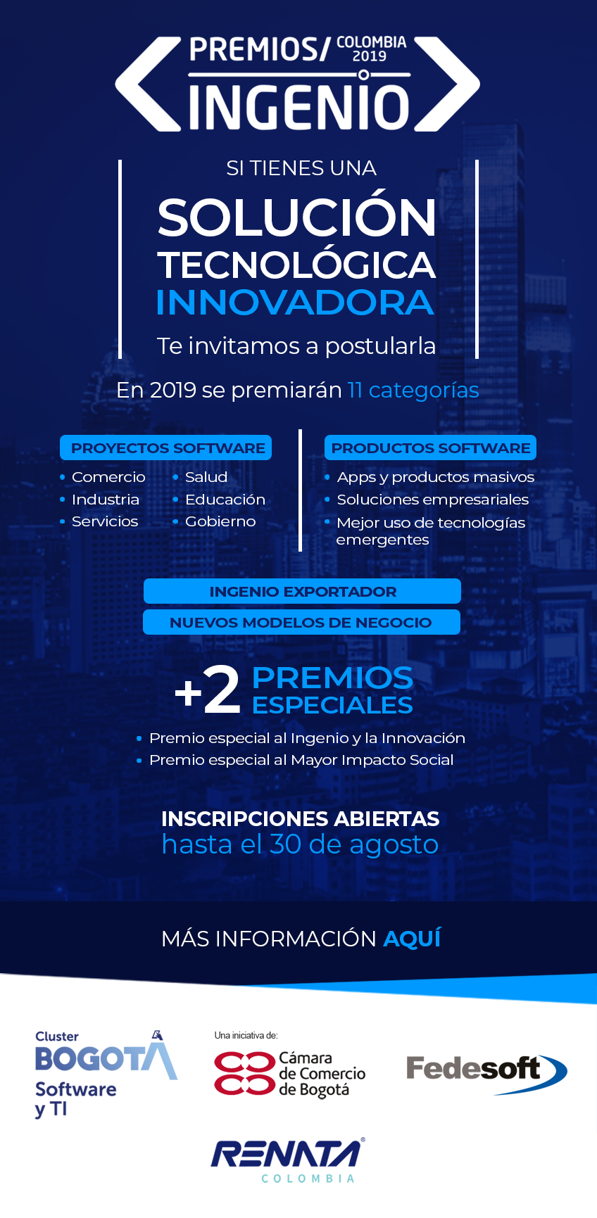 Premios Ingenio Colombia 2019