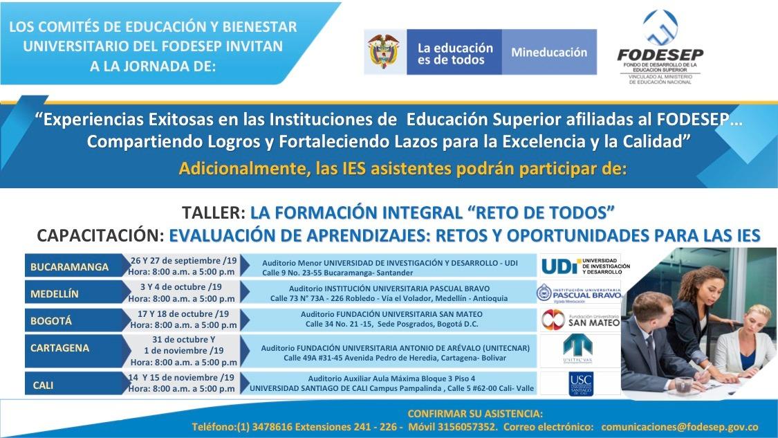 Los comités de educación y bienestar universitario de fodesep