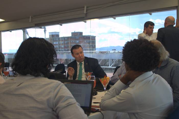 Vicepresidente de la REDTTU, rector Omar Lengerke de las UTS interviene en la Mesa de Trabajo de Reforma al ICETEX