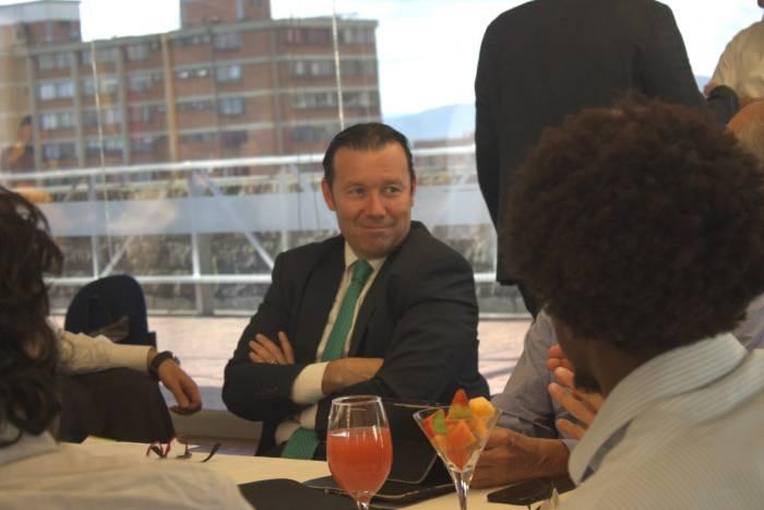 Rector Omar Lengerke en la Mesa de Trabajo de Reforma al ICETEX en la Universidad Piloto en Bogotá