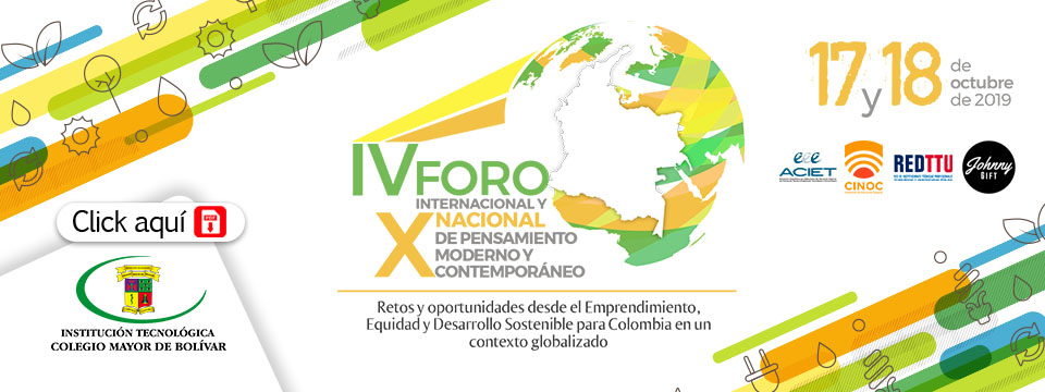 IV FORO INTERNACIONAL Y X NACIONAL