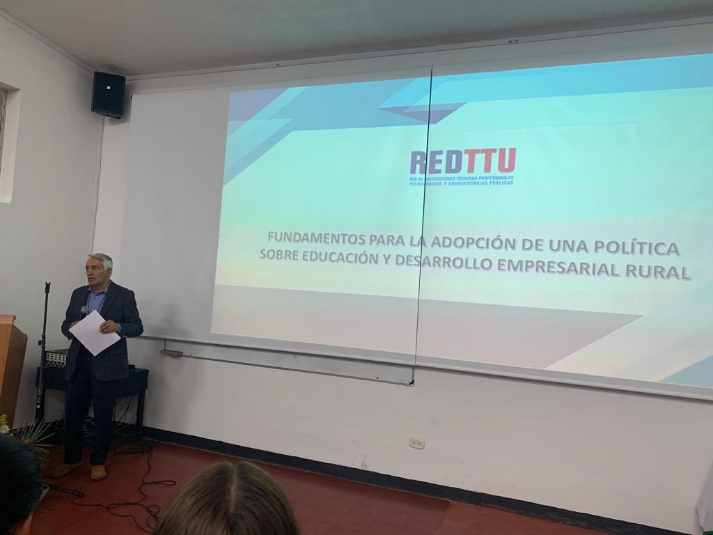 Intervención del Director ejecutivo Felipe Ortiz