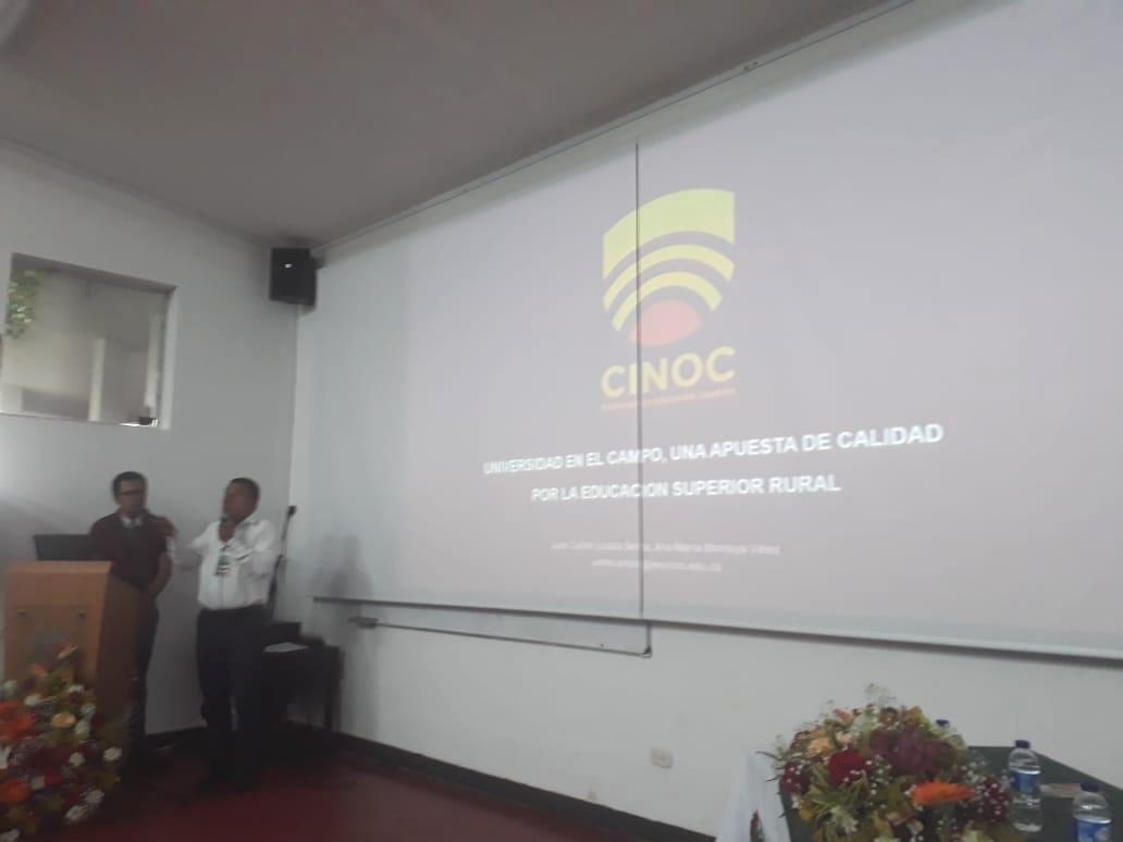 Intervención del Rector del CINOC Juan Carlos Loaiza