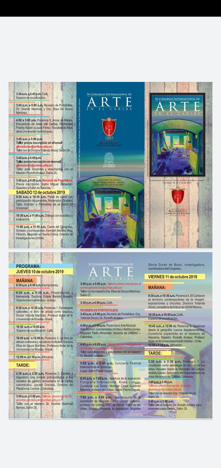 IX Congreso Internacional de Arte en el Caribe