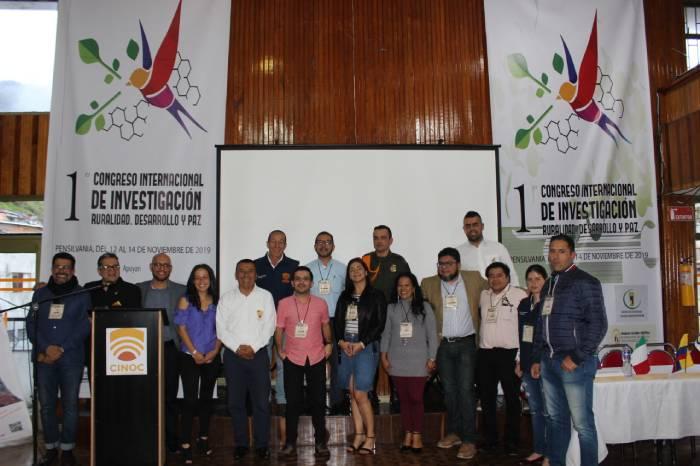 Ponentes y participantes en el Congreso Internacional de Investigación: ruralidad, desarrollo y paz