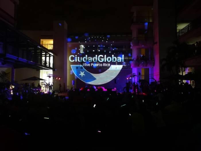 Plazoleta del ITM durante eventos de Ciudad Global
