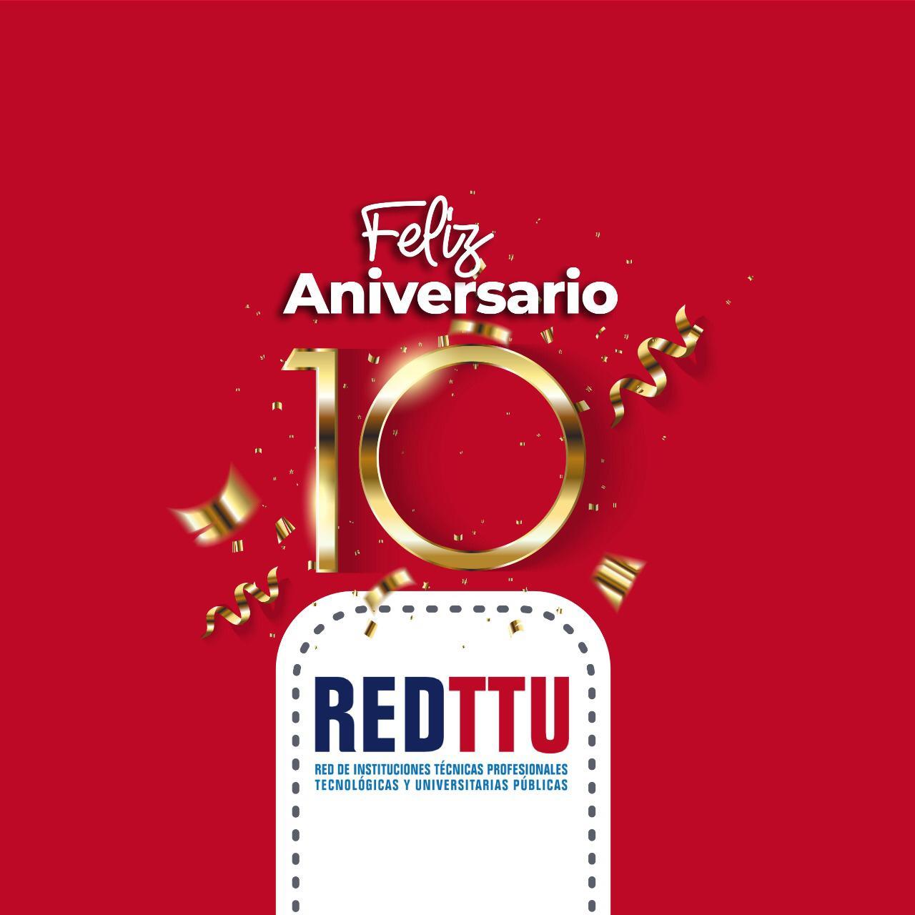 Décimo aniversario REDTTU
