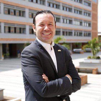 Rector Omar Lengerke de las Unidades Tecnológicas de Santander