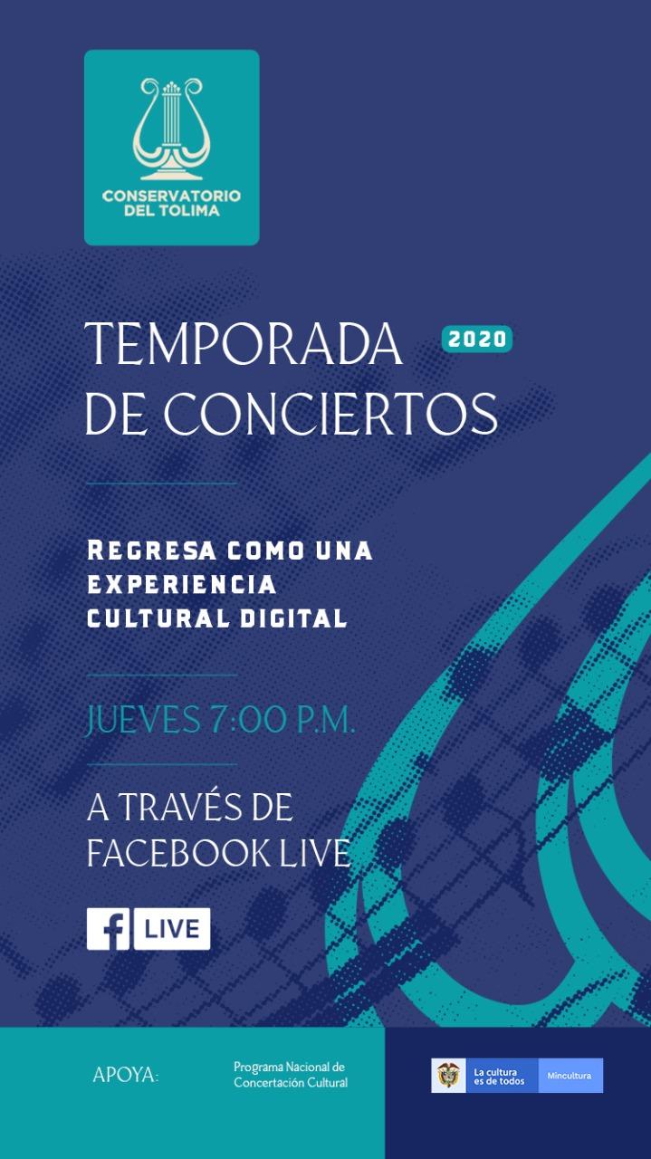 Temporada de Conciertos Conservatorio del Tolima